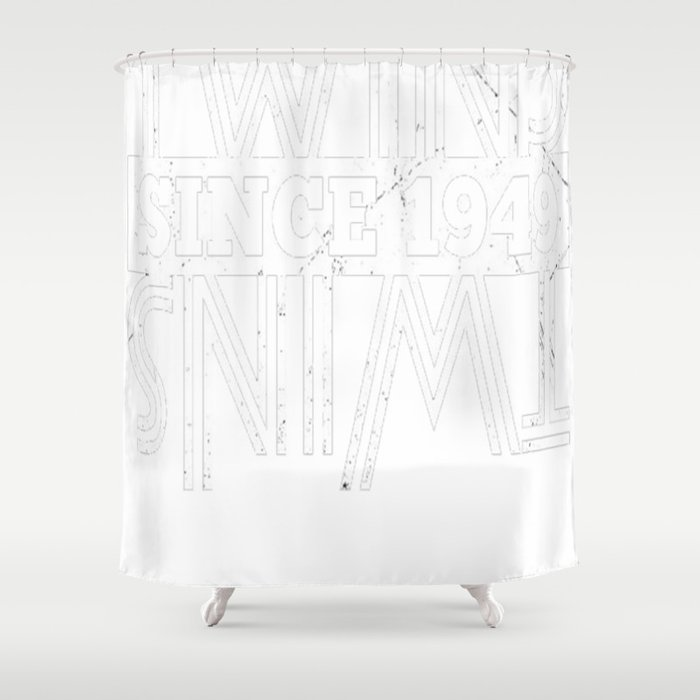 Twins-Since-1949---68th-Birthday-Gifts Shower Curtain