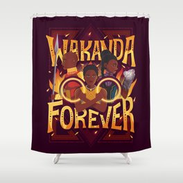 Women of Wakanda Shower Curtain