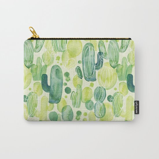Cactus splash Carry-All Pouch