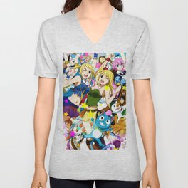 Lucy - Fairy Tail Unisex V-Neck