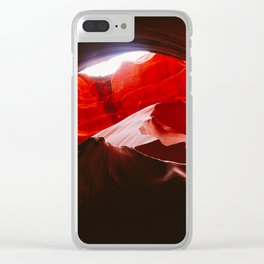 Hidden Valley Cave Clear iPhone Case