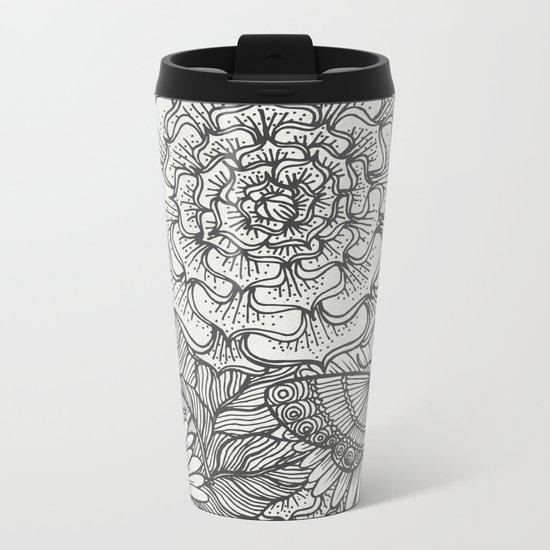 Plants Metal Travel Mug