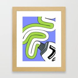 Toothpaste Framed Art Print
