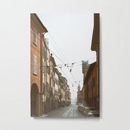 Bologna Morning Metal Print