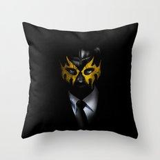 SOLAR SQUAD MAN Throw Pillow