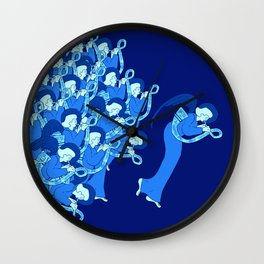 Night Angelic Chorus Wall Clock