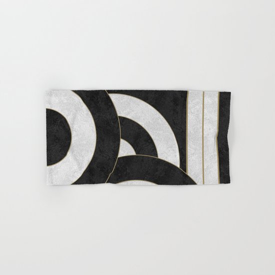Geometric Marble 01 (abstract) Hand & Bath Towel
