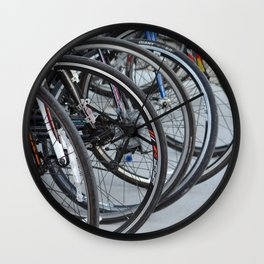 Bicycle Wheels Wall Clock