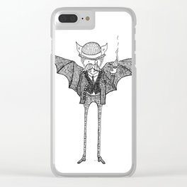 Watson the Bat Clear iPhone Case