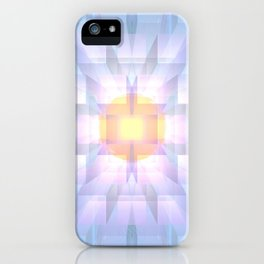 Fire and Ice One iPhone Case