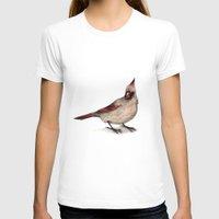cardinal T-shirts featuring Cardinal by Sarah Jane Rozman