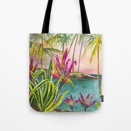 Mauna Lani Beach Tote Bag