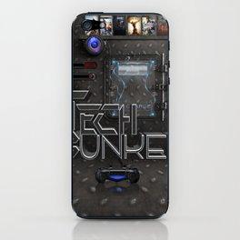 tech bunker iPhone Skin