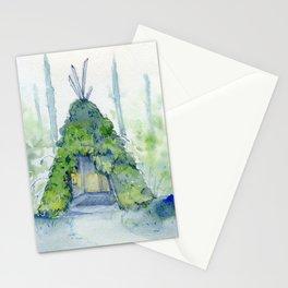 Yeti Tent Stationery Cards