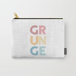 Grunge  TShirt Music Shirt Instrument Gift Idea Carry-All Pouch