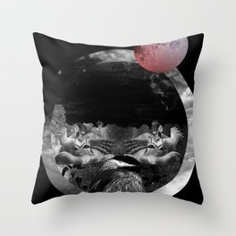 Echo the sun Throw Pillow