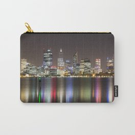 Perth Skyline At Night Carry-All Pouch