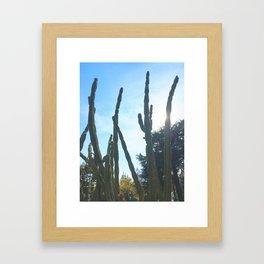 poderoso Framed Art Print