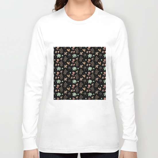 Colorful Lovely Pattern III Long Sleeve T-shirt