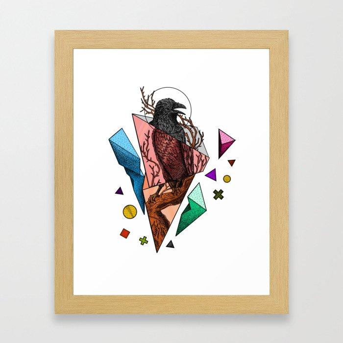 Powerful and fragile Framed Art Print