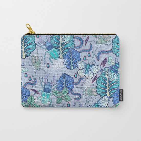 Frozen bugs in the garden Carry-All Pouch