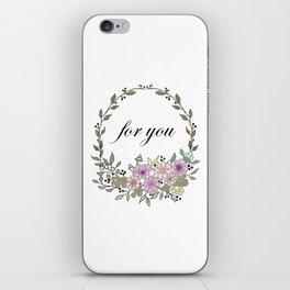for you . Artwork iPhone Skin