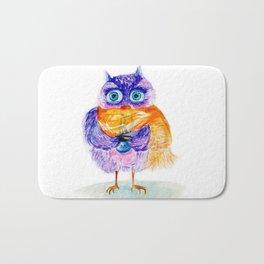 The little owl Cosette Bath Mat