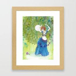 Belly Dancer Goddess Framed Art Print