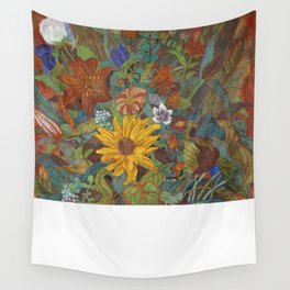 flower 2【Japanese painting】 Wall Tapestry
