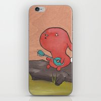 banjo iPhone & iPod Skins featuring Banjo by Art of Tim Boyd