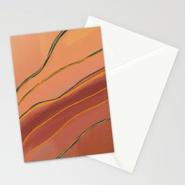 Abstract Brushstrokes II Stationery Cards