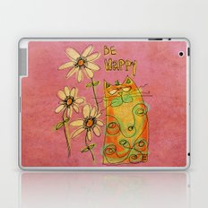 Be Happy Laptop & iPad Skin