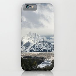 Teton National Park Wyoming - Snake River iPhone Case