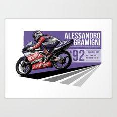 Alessandro Gramigni - 1992 Shah Alam Art Print