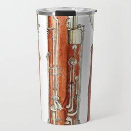 Bassoon Travel Mug