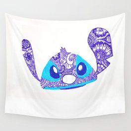 54. Henna STITCH for Easter Funny Face Wall Tapestry