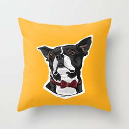 Mayor of the Mill Throw Pillow