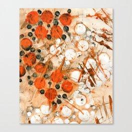 Bouncing Atoms Canvas Print