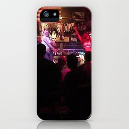 Cowgirls Inc. American Saloon, Seattle WA iPhone Case