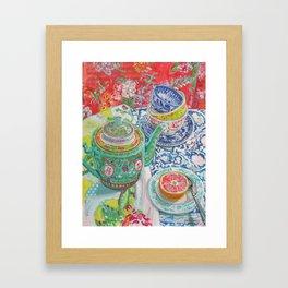 Tea for Joanne Framed Art Print