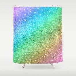Rainbow Princess Glitter #1 (Photography) #shiny #decor #art #society6 Shower Curtain