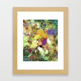 Forgotten petals Framed Art Print