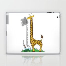 Long Long Giraffe Bong Laptop & iPad Skin