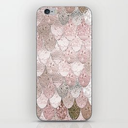 SUMMER MERMAID NUDE ROSEGOLD by Monika Strigel iPhone Skin
