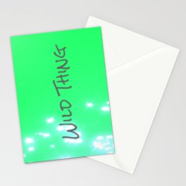 Lime Wild Thing Stationery Cards