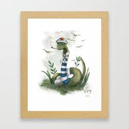 the marin snake Framed Art Print