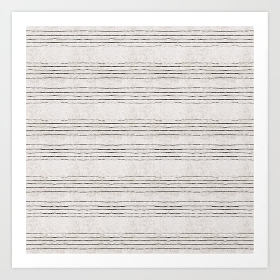 LINEN STRIPE RUSTIC by hollizollinger