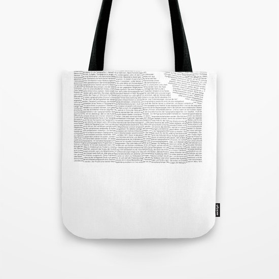 Erosion & Typography 2 Tote Bag