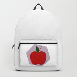 Red Apple Background Backpack