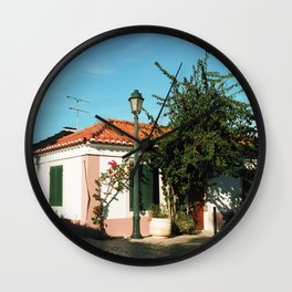 Portugal, Cascais (RR 186) Analog 6x6 odak Ektar 100 Wall Clock